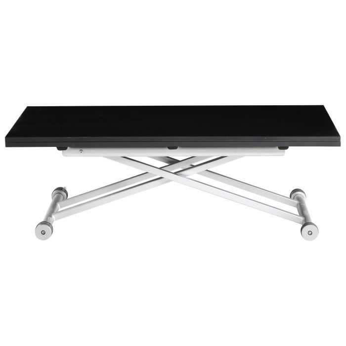 TABLE BASSE EVOLUTION Table relevable extensible de 2 à 6 pers