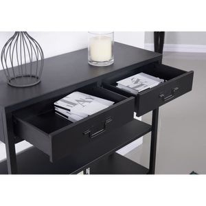 console meubles achat vente console meubles pas cher cdiscount. Black Bedroom Furniture Sets. Home Design Ideas