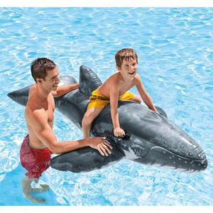 BOUÉE - BRASSARD INTEX Bouée Gonflable enfant Baleine Bleue à Cheva