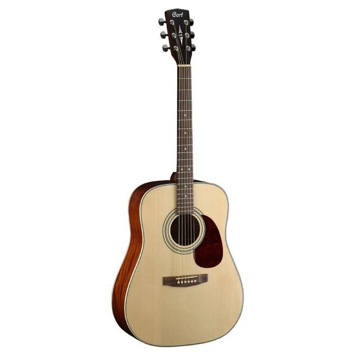 GUITARE CORT Earth 70  Guitare Acoustique Natural Satin