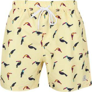 MAILLOT DE BAIN Short de bain homme imprimé toucans, 2 poches côté