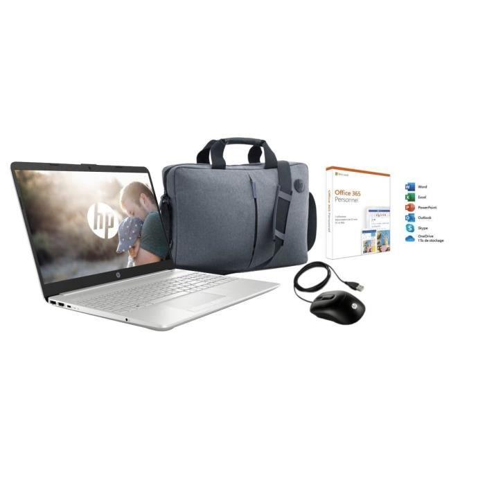 "ORDINATEUR PORTABLE HP PC Portable 15-dw0080nf - 15.6"" HD TN - Intel C"