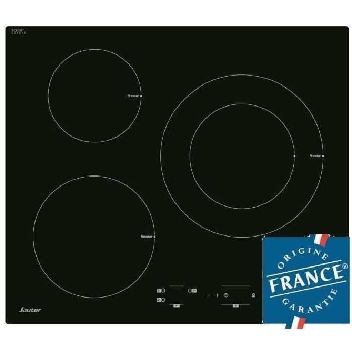 destockage sauter spi4367b table de cuisson induction - 3 zones