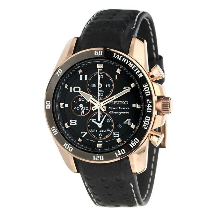 seiko montre chronographe homme achat vente montre seiko montre chronographe cdiscount. Black Bedroom Furniture Sets. Home Design Ideas