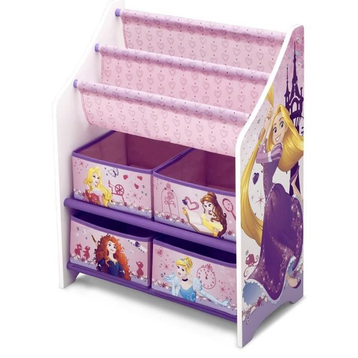 disney princesses meuble de rangement enfant et livres achat vente commode de chambre. Black Bedroom Furniture Sets. Home Design Ideas