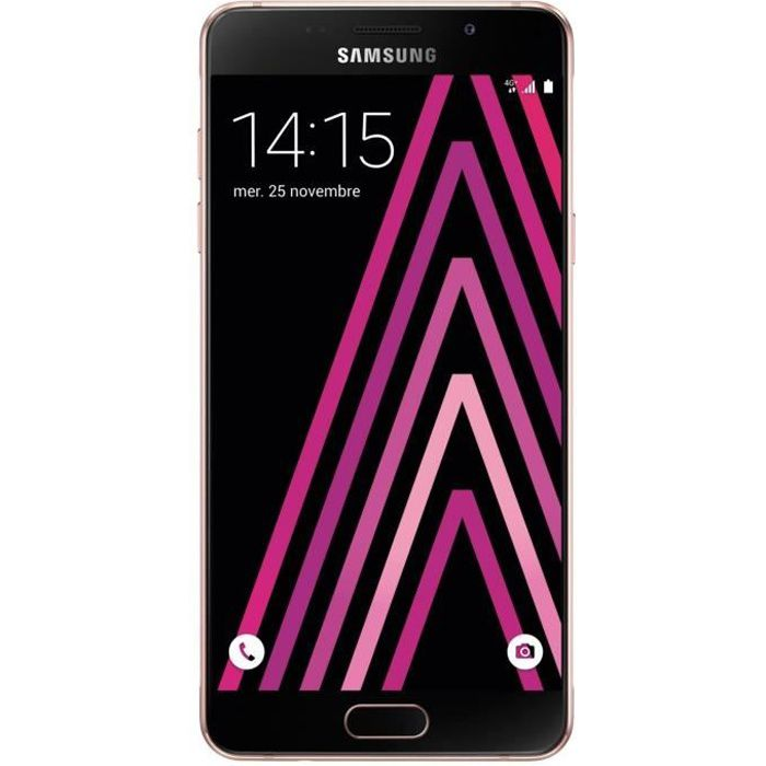 samsung galaxy a5 rose 2016 achat smartphone pas cher. Black Bedroom Furniture Sets. Home Design Ideas