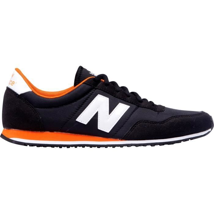new balance gris noir orange