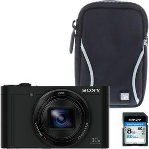 PACK APPAREIL COMPACT Pack SONY DSC-WX500B Appareil photo numérique comp