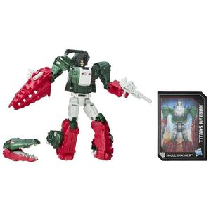 FIGURINE - PERSONNAGE TRANSFORMERS Generation Deluxe Skullsmasher 15cm