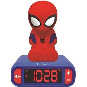 RÉVEIL ENFANT LEXIBOOK - Spider-man - Radio Réveil Veilleuse
