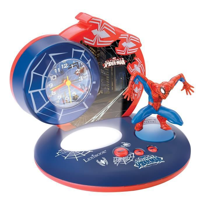 spiderman radio r veil lexibook achat vente r veil enfant cdiscount. Black Bedroom Furniture Sets. Home Design Ideas