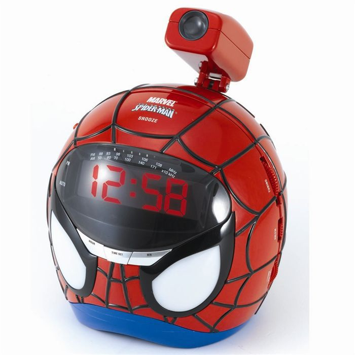 spiderman radio r veil projecteur lexibook 3380742999143