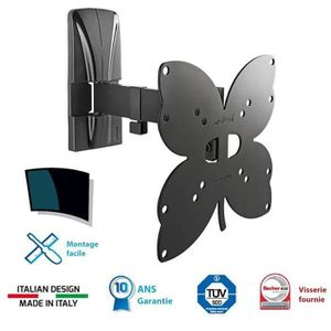 FIXATION - SUPPORT TV MELICONI 200 SR Support TV mural orientable Slim 2