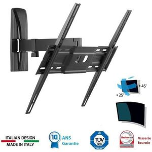 FIXATION - SUPPORT TV MELICONI 400 SR Support TV mural orientable Slim 4