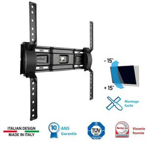 FIXATION - SUPPORT TV MELICONI 400 ST Support TV mural inclinable Slim 4
