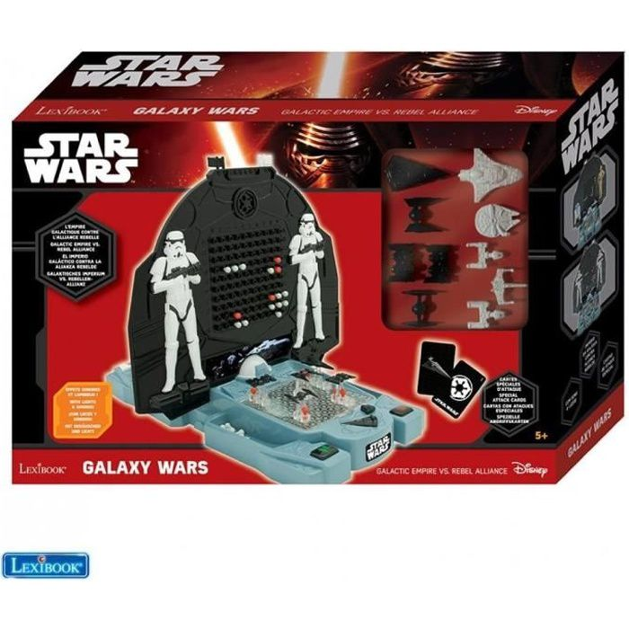 Star wars galaxy battle de lexibook jouet for Dujardin 41299 chrono bomb night version