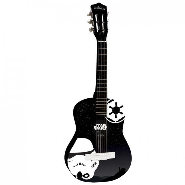 Acoustique en Bois 63 cm   6 Cordes métal Guitare classique médiator  Enfant