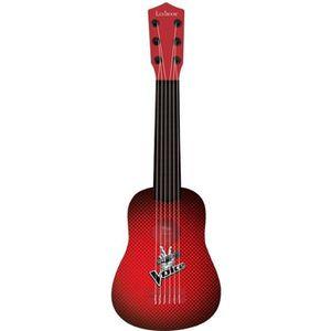 INSTRUMENT DE MUSIQUE LEXIBOOK - Ma Première Guitare - The Voice- 6 Cord