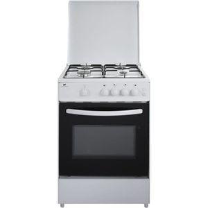 CUISINIÈRE - PIANO CONTINENTAL EDISON Cuisinière gaz, four gaz 65L, é