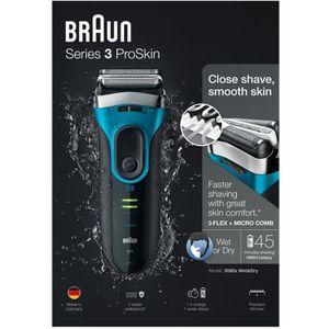 RASOIR ÉLECTRIQUE Rasoir Électrique - Braun Series 3 3040 Wet & Dry