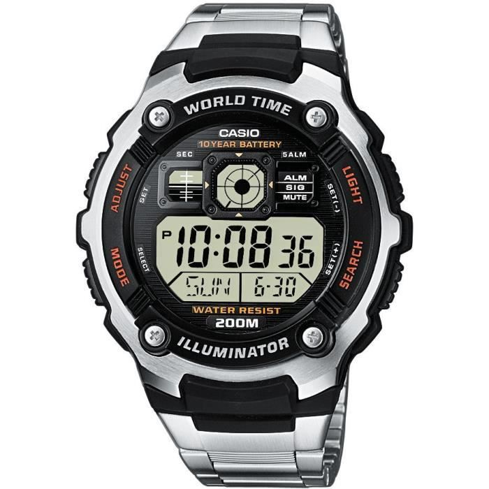 montre casio ae 2000wd 1avef  no1bm