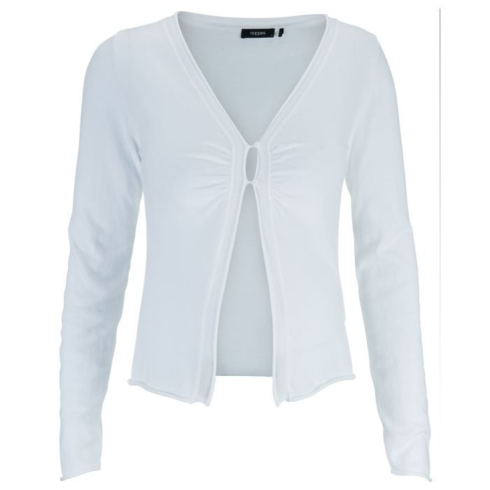 noppies gilet elvire femme blanc achat vente gilet cardigan cdiscount. Black Bedroom Furniture Sets. Home Design Ideas