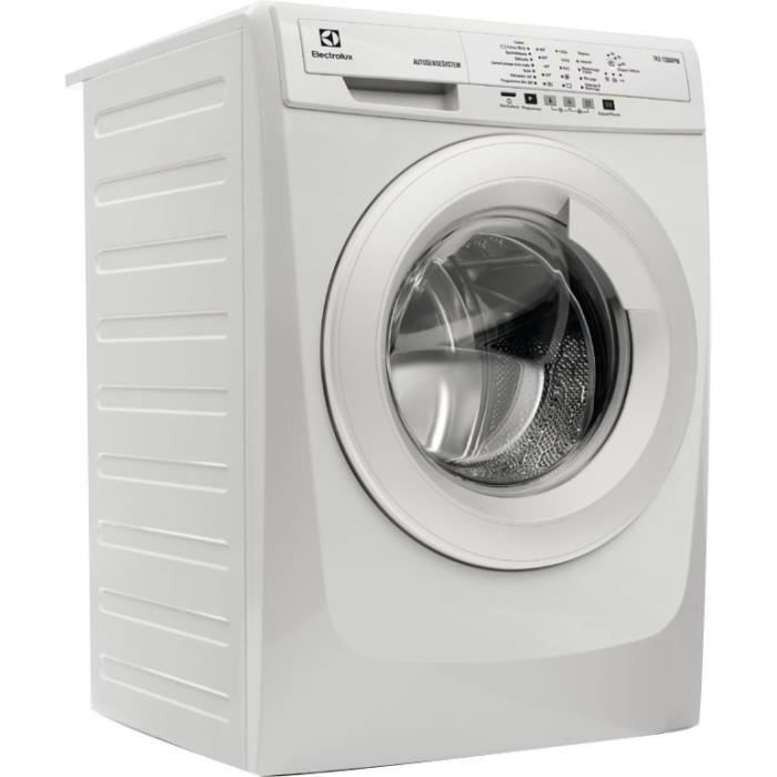 electrolux ewf1490ws lave linge frontal 10kg 1400 tours electrom nager. Black Bedroom Furniture Sets. Home Design Ideas