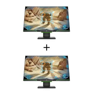 ECRAN ORDINATEUR 2 Écrans HP PC Gamer 25x - 24.5'' Full HD - Dalle