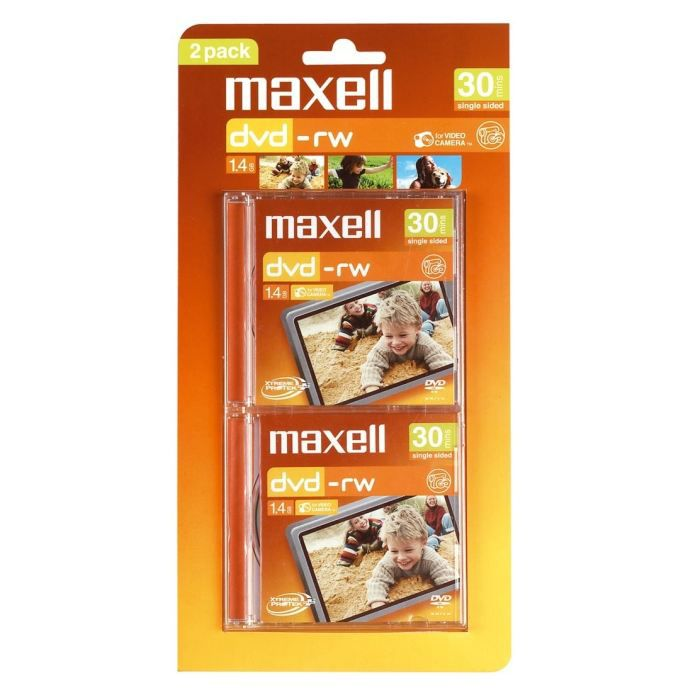 maxell 2 dvd rw 30 minutes achat vente cd dvd vierge maxell 2 dvd rw 30 minutes cdiscount. Black Bedroom Furniture Sets. Home Design Ideas