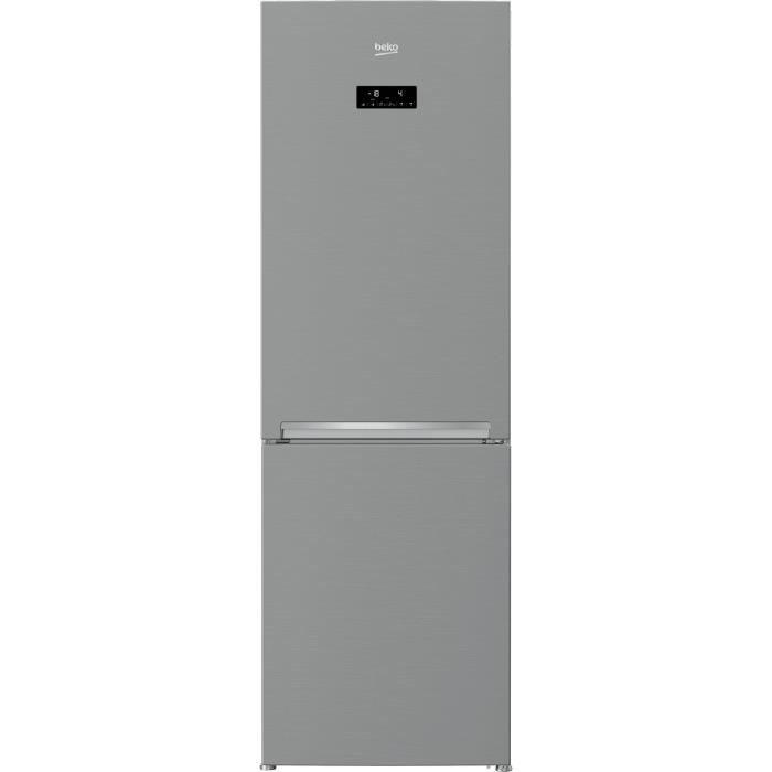 RÉFRIGÉRATEUR CLASSIQUE BEKO RCNE365E20XP-Réfrigérateur combiné-321 L (224