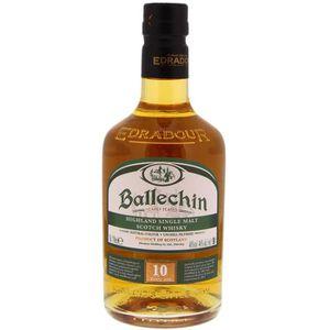 WHISKY BOURBON SCOTCH Ballechin - 10 ans - Whisky - 46.0% Vol. - 70 cl