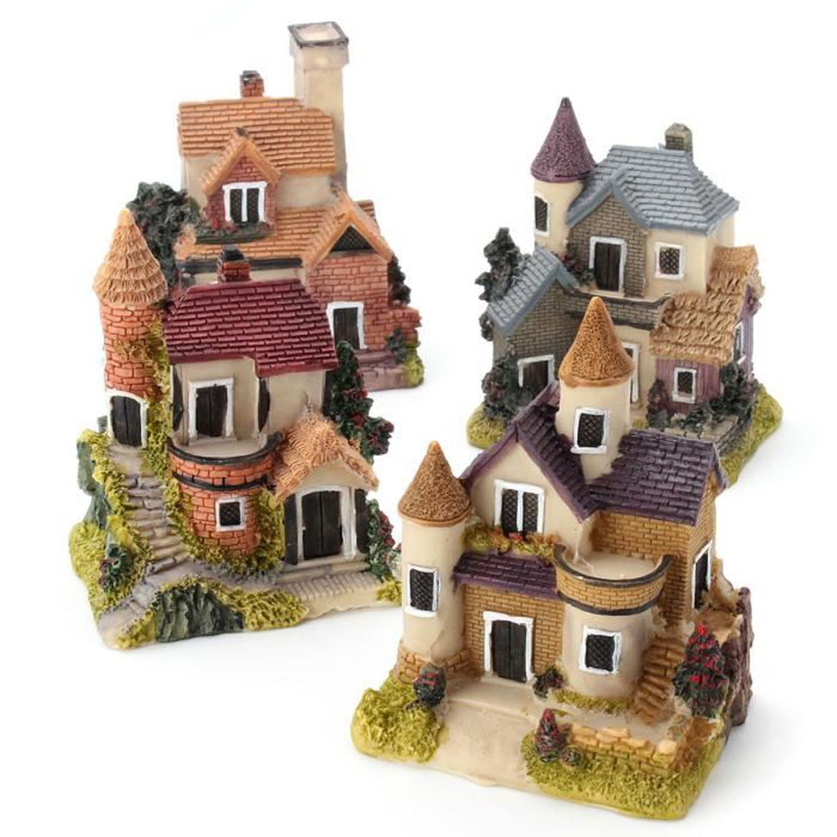 Ornement r sine d coration miniature jardin bonsa maison for Deco jardin miniature