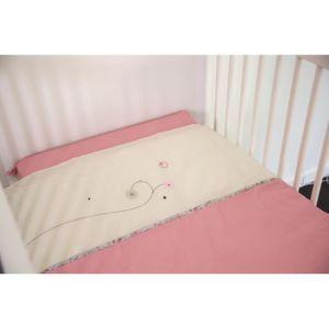 PARURE DE LIT BÉBÉ CANDIDE Bed set 2 pièces Jolie Fleur