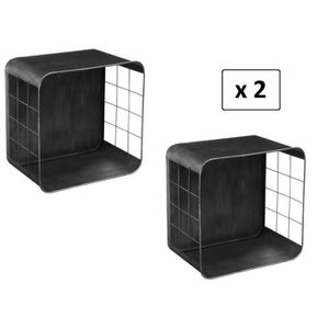 etagere a poser au mur achat vente etagere a poser au mur pas cher les soldes sur. Black Bedroom Furniture Sets. Home Design Ideas