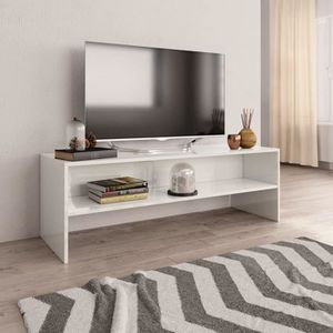 MDF Structure Acier FURNISH1 Meuble TV 120 cm 120x40x46cm