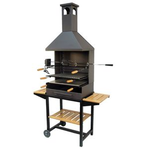 barbecue avec hotte achat vente barbecue avec hotte pas cher soldes cdiscount. Black Bedroom Furniture Sets. Home Design Ideas