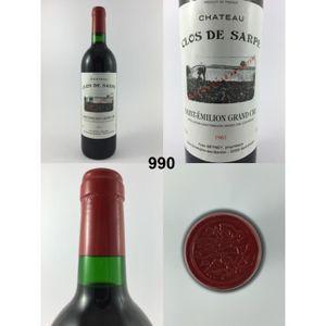 VIN ROUGE Château Clos de Sarpe 1961 - N° : 990