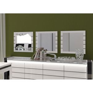 miroir achat vente miroir pas cher cdiscount. Black Bedroom Furniture Sets. Home Design Ideas