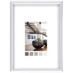 CADRE PHOTO IMAGINE Expo Cadre Photo - Blanc - 60x80