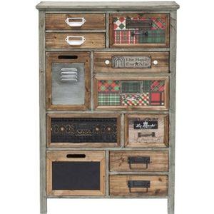COMMODE DE CHAMBRE Commode California 11 tiroirs Kare Design