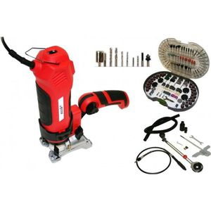 OUTIL MULTIFONCTIONS Outil Scie Twist Saw Multifonctions 550W + Kit 286