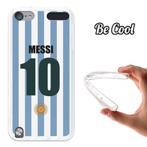 COQUE MP3-MP4 BeCool® - Coque Gel Tpu TPU iPod Touch 5G Messi