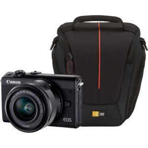 PACK APPAREIL HYBRIDE CANON EOS M100 Appareil photo Hybride - Noir + EF-