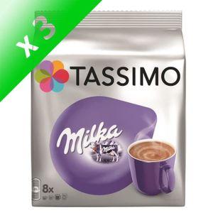 CAFÉ Tassimo Milka Chocolat en dosettes x8 - 240 g (Lot