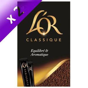 CAFÉ L'Or Classique Café soluble sticks x80 - 144 g (Lo