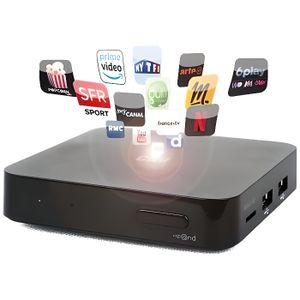 BOX MULTIMEDIA CGV 70071 Boitier TV Android 4K 7.1- Noir