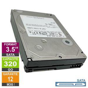 DISQUE DUR INTERNE Disque Dur 320Go SATA 3.5 Hitachi HDT725032VLA360