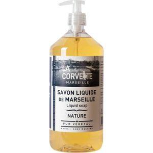 SAVON - SYNDETS Savon liquide de marseille nature 1l pompe