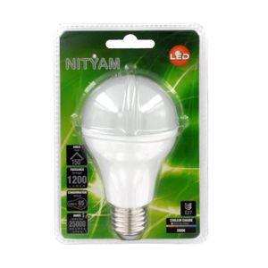 AMPOULE - LED NITYAM Ampoule Led standard E27 15W équivalent à 8