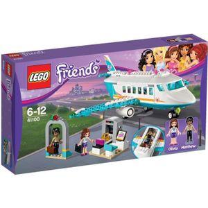 ASSEMBLAGE CONSTRUCTION LEGO Friends 41100 L'Avion privé de Heartlake City